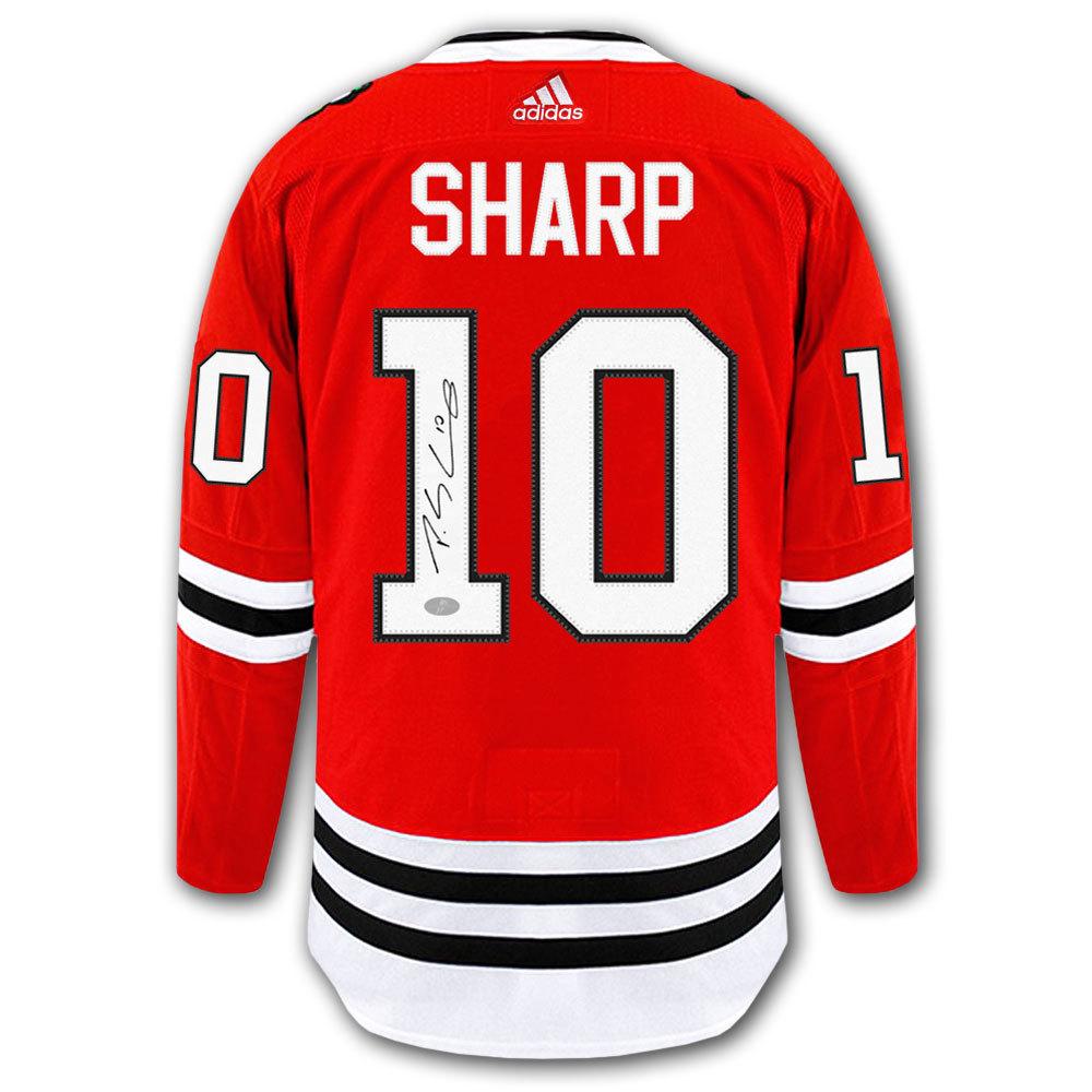 Patrick Sharp Chicago Blackhawks Adidas Pro Autographed Jersey