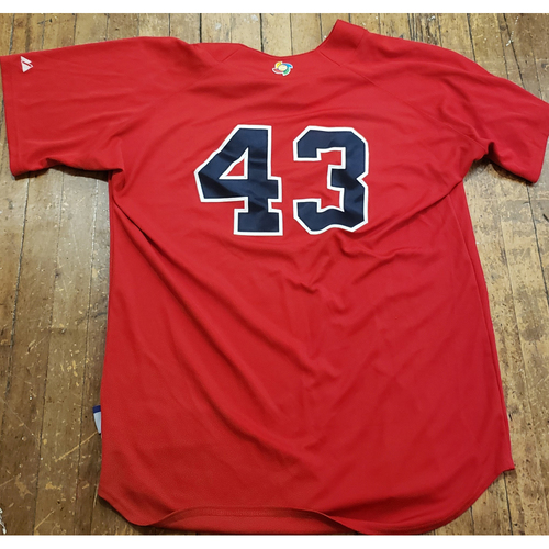 Photo of 2013 World Baseball Classic BP Jersey - R.A. Dickey - Size 50 (USA)