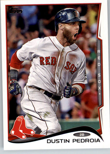 Photo of 2014 Topps #166A Dustin Pedroia