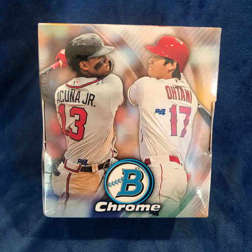 Photo of UMPS CARE AUCTION: 2018 Topps Bowman Chrome Edition Card Set