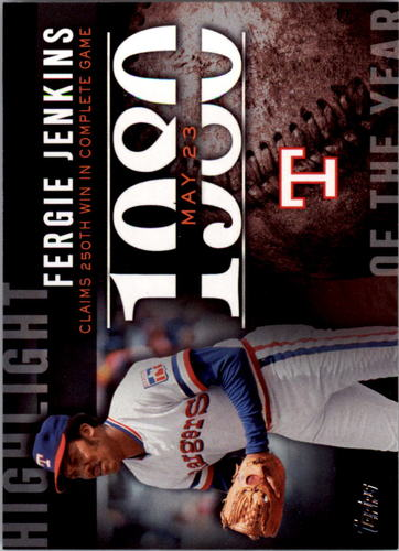 Photo of 2015 Topps Highlight of the Year #H20 Fergie Jenkins