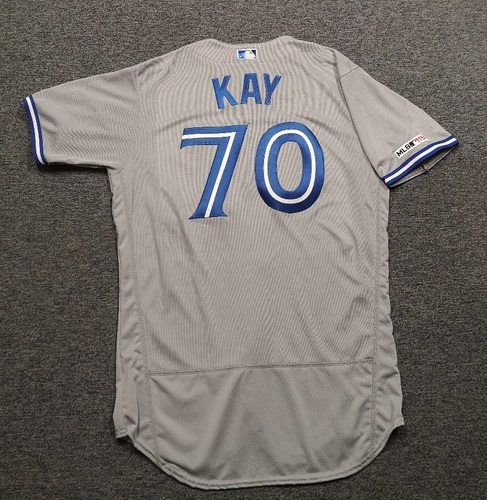 Photo of Authenticated Team issued Jersey: #70 Anthony Kay (2019 Season). Size 46