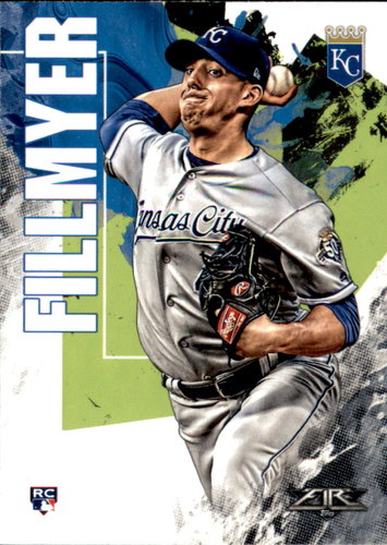 Photo of 2019 Topps Fire #3 Heath Fillmyer RC