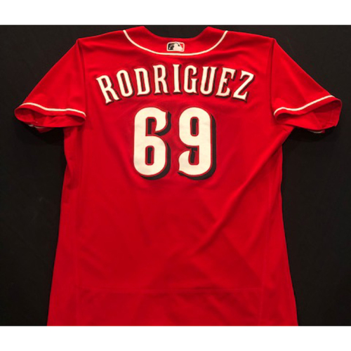Photo of Alfredo Rodriguez -- 2020 Spring Training Jersey -- Team-Issued -- Size 46