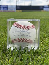 Photo of Howard Johnson Signed Baseball