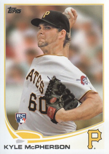 Photo of 2013 Topps #428 Kyle McPherson RC