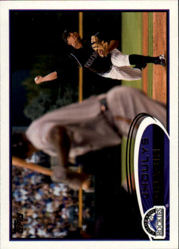 Photo of 2012 Topps #45 Jhoulys Chacin