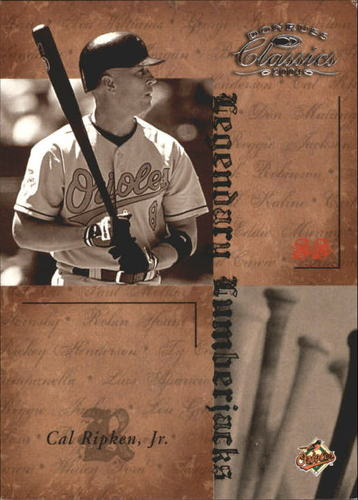 Photo of 2004 Donruss Classics Legendary Lumberjacks #14 Cal Ripken