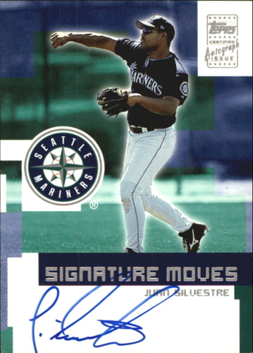 Photo of 2002 Topps Traded Signature Moves #JS Juan Silvestre D