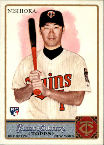 Photo of 2011 Topps Allen and Ginter #206 Tsuyoshi Nishioka RC