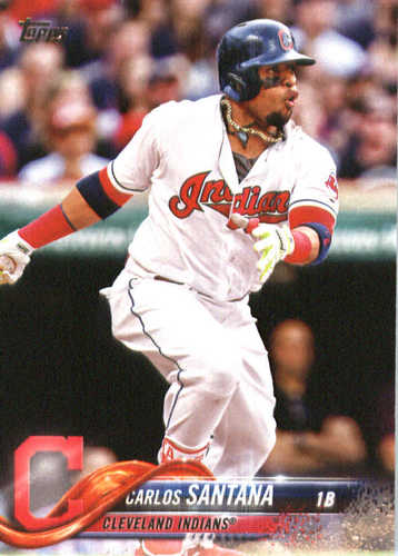 Photo of 2018 Topps #40 Carlos Santana