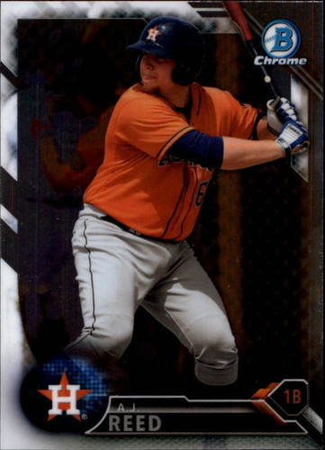 Photo of 2016 Bowman Chrome Prospects #BCP92 A.J. Reed
