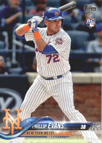 Photo of 2018 Topps #517 Phillip Evans RC