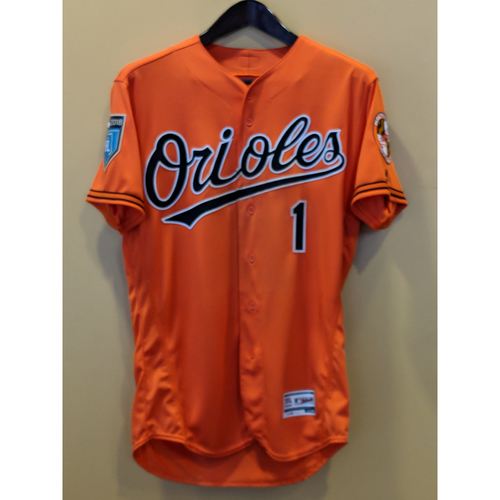 Photo of Tim Beckham - Spring Training Jersey: Game-Used