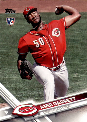 Photo of 2017 Topps #539A Amir Garrett RC