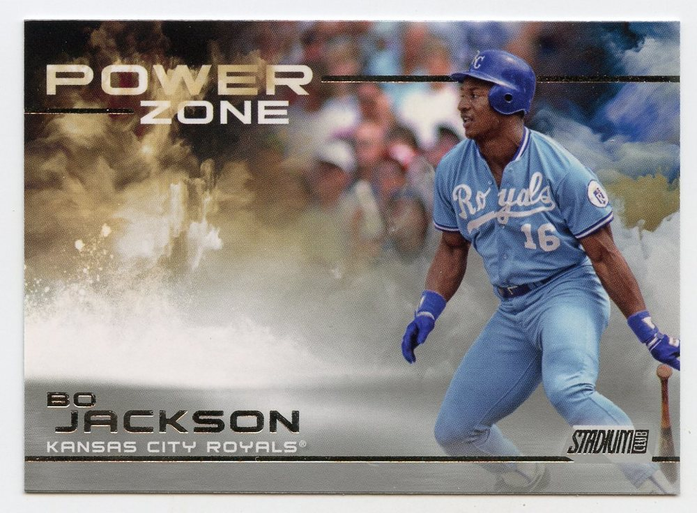 2019 Stadium Club Power Zone #PZ22 Bo Jackson