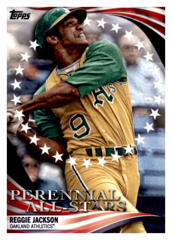 2019 Topps Update Perennial All Stars #PAS4 Reggie Jackson