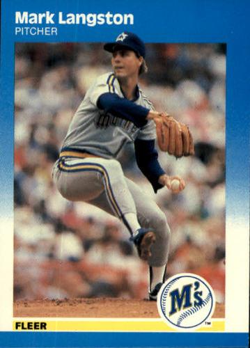 Photo of 1987 Fleer #589 Mark Langston