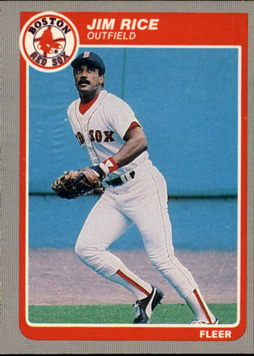 Photo of 1985 Fleer #168 Jim Rice