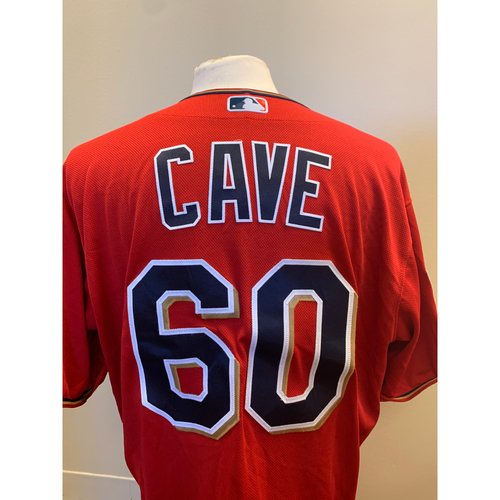 Photo of Minnesota Twins - 2019 Game-Used Spring Training Jersey - Jake Cave