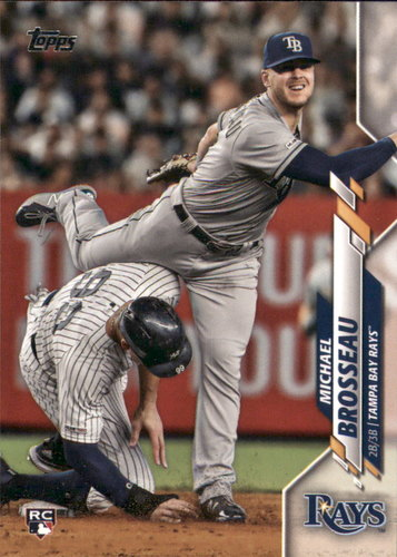 Photo of 2020 Topps #133 Michael Brosseau RC