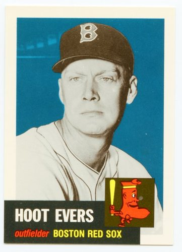 Photo of 1991 Topps Archives 1953 #291 Hoot Evers