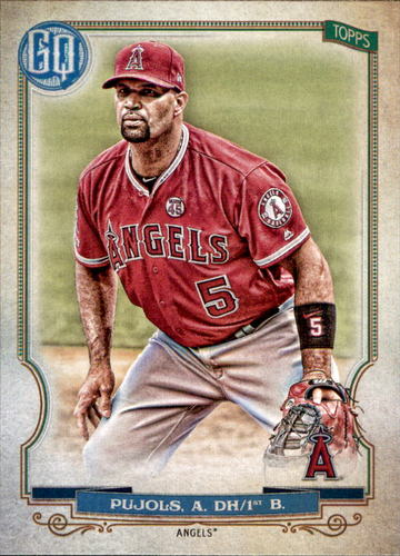 Photo of 2020 Topps Gypsy Queen #204 Albert Pujols
