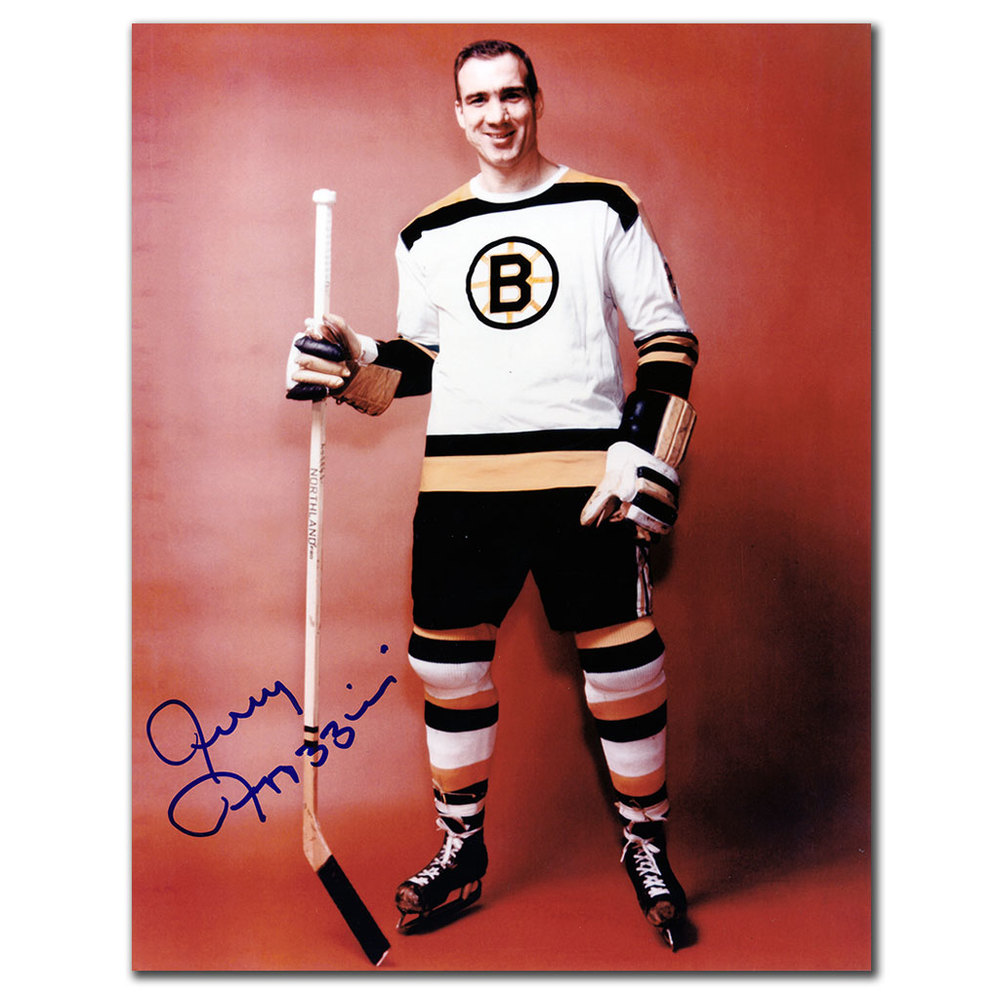 Jerry Toppazzini Boston Bruins Autographed 8x10 Photo