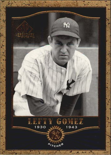 Photo of 2001 SP Legendary Cuts #82 Lefty Gomez