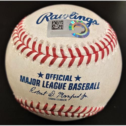 Photo of Jorge Soler Kansas City Royals Single Baseball (MLB AUTHENTICATED)