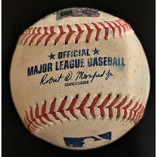 Photo of Game-Used Baseball:  Casey Mize Detroit Tigers MLB Debut Pitched Ball (MLB AUTHENTICATED)