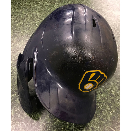 Photo of #77 Navy 2020 Team-Issued Batting Helmet