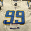 Crucial Catch - Chargers Jerry Tillery Game Used Jersey (10/12/20) Size 42