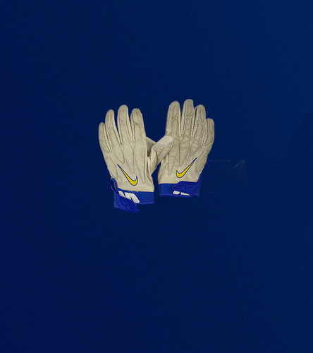 Photo of Aaron Donald Game Used Gloves - (10/17/2021 VS. New York Giants)