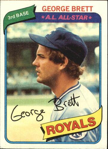 Photo of 1980 Topps #450 George Brett