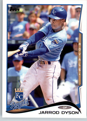 Photo of 2014 Topps #3 Jarrod Dyson