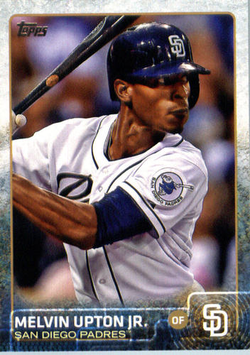 Photo of 2015 Topps Update #US384 Melvin Upton Jr.