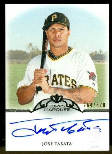 Photo of 2011 Topps Marquee Monumental Markings Autographs #JT Jose Tabata/570