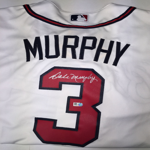 Dale Murphy Autographed Replica Braves Jersey