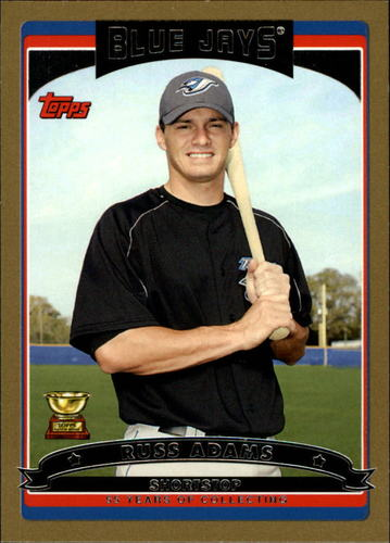 Photo of 2006 Topps Gold #132 Russ Adams