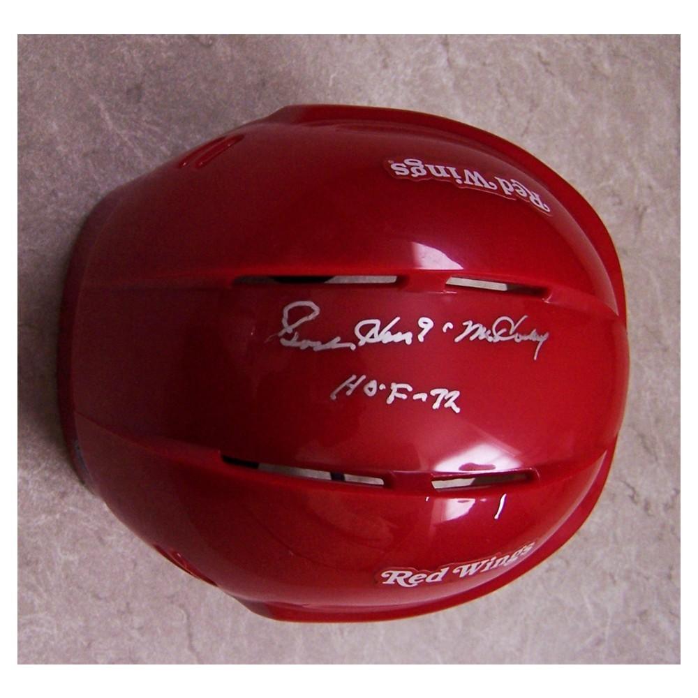 Gordie Howe Autographed Detroit Red Wings Mini Helmet