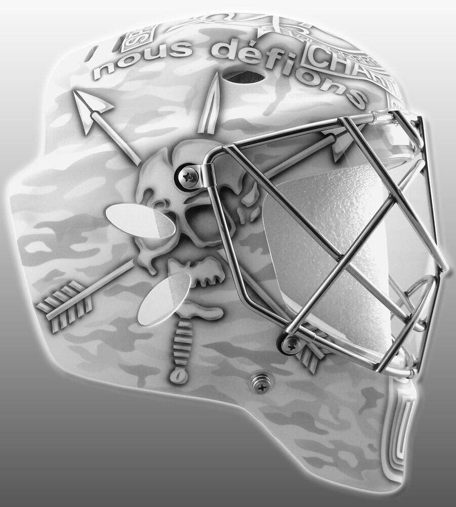 Jonathan Quick - Team USA - World Cup of Hockey 2016 Tournament - Used Goalie Mask