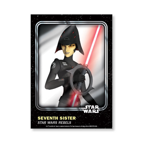 Seventh Sister 2016 Star Wars Card Trader Base Poster - # to 99