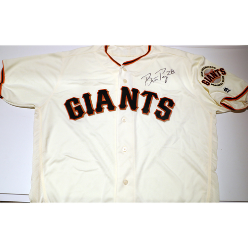 Compton Youth Academy Auction: Buster Posey Signed Jersey - Not Authenticated by MLB