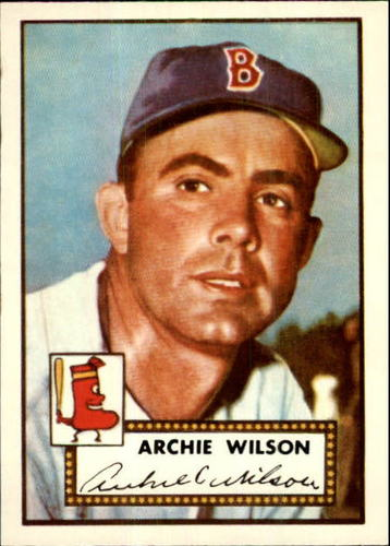 Photo of 1983 Topps 1952 Reprint #327 Al Wilson