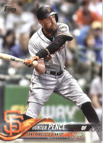 Photo of 2018 Topps #47 Hunter Pence