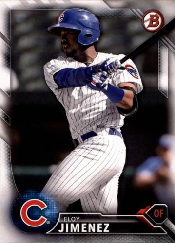 Photo of 2016 Bowman Draft #BD191 Eloy Jimenez -- Ranked #4 of MLB's Top 100 Prospects