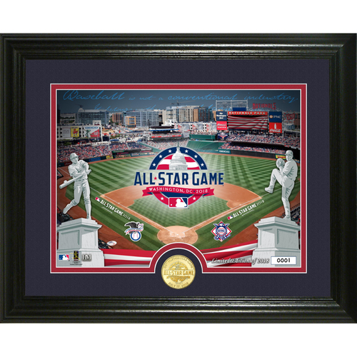 Photo of Serial #1! 2018 MLB All-Star Game Bronze Coin Photo Mint