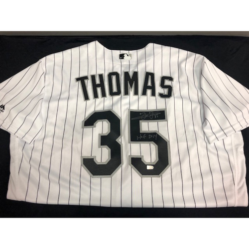 Photo of Frank Thomas Autographed Jersey - Size 52