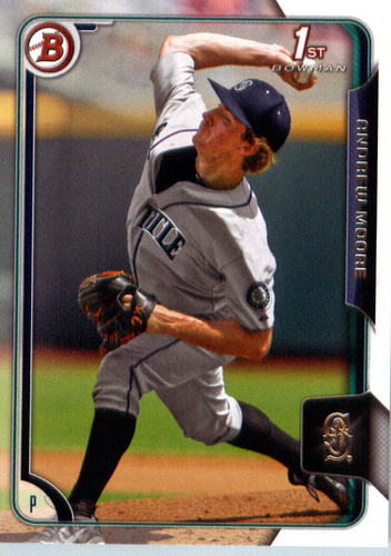 Photo of 2015 Bowman Draft #91 Andrew Moore